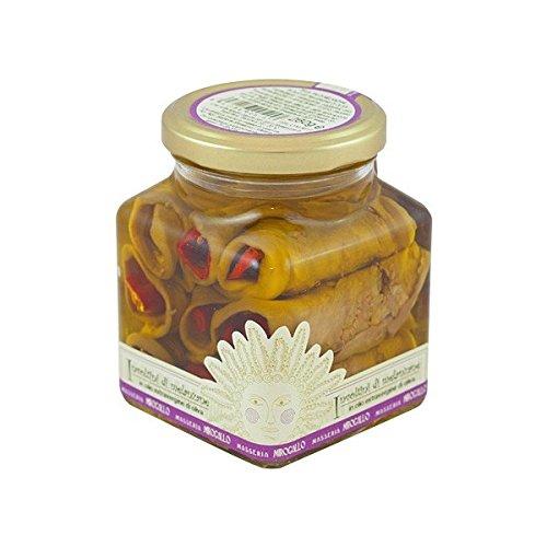 Masseria Mirogallo, Involtini di melanzane e peperoni
