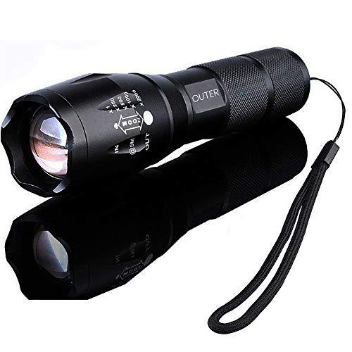 1000 lm tactical flashlight - 1