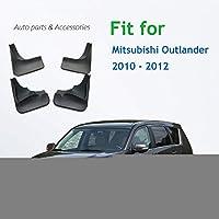 フロントリア成形車の泥フラップ三菱アウトランダー 2010 2011 2012 Mudflaps スプラッシュガード泥フラップマッド