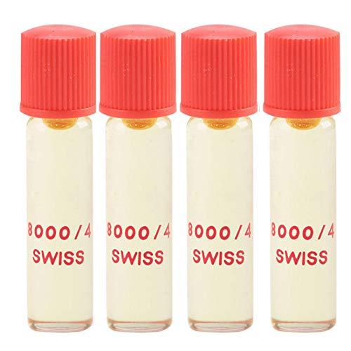 Lubrificante per la manutenzione di orologi da polso da tasca, 8000/4 olio per orologi da 2 ml, per movimenti nella gamma da orologi da polso a orologi da tasca