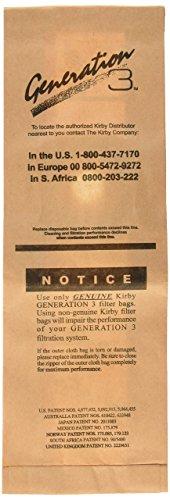 Kirby 197389 Disposable Bag/Gen 3, 9pk, 1