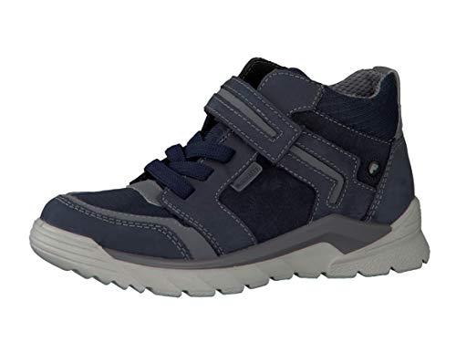 RICOSTA garçon Bottes & Boots York, Bottes d'hiver pour Enfants, Gamin Bottes d'hiver,Chaussures d'extérieur,imperméables,Schwarz,31 EU / 12 UK
