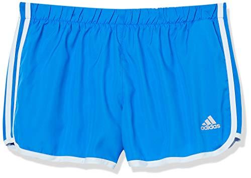 adidas Marathon 20 - Pantalones Cortos para Mujer, Marathon 20 Pantalones Cortos, Mujer, Color Glory Azul/Sky Tint, tamaño S 3 Inches