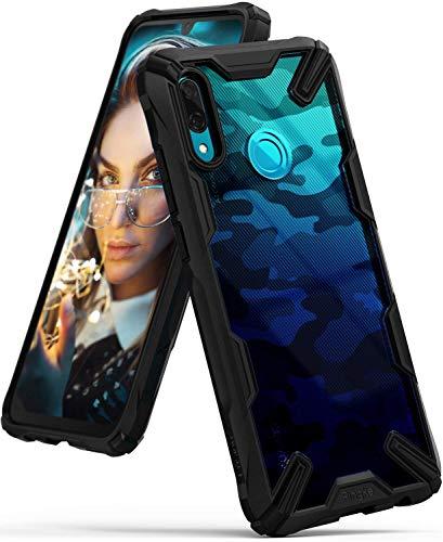 Ringke Fusion X Design DDP Kompatibel mit Huawei P Smart 2019 Hülle (6.2