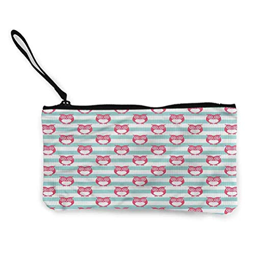 Outhouse Zipper Coin Pouch Zipper Storage Case Cosmetic Bags Hut Cottage in Forest