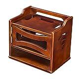 Xuping estante flotante madera caja de almacenamiento soporte estante/soporte/soporte para WiFi Router TV Box set top box altavoz streaming dispositivo consola juego