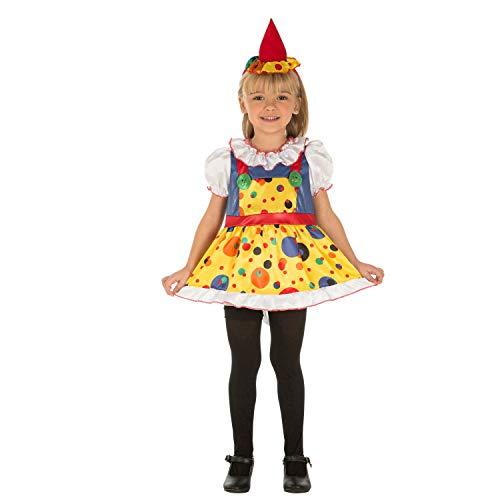 Desconocido My Other Me-204065 Disfraz de payasita para niña, 1-2 años (Viving Costumes 204065)