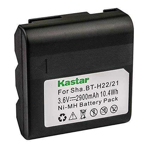 Kastar 1-Pack BT-H22 Battery 3.6V 2900mAh Replacement for Sharp BT-H21, BT-H21U, BT-H22, BT-H22U, Duracell DR7, Empire VBC-3UN, RCA PRO, B712, Sears 55428, 58428, 58457, 58458