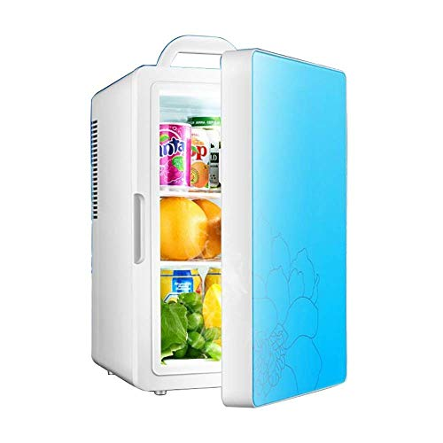LXYZ Car Refrigerator 16l Single Core Mini Car Home Dual-Use Hot and Cold Refrigerator Noise Beverage Car Cooler Fridge for Truck Party Travel Picnic Outdoor Camping