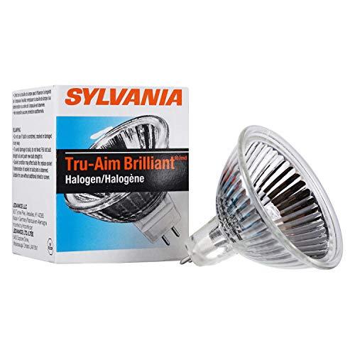Osram Sylvania true-aim Brilliant lampada alogena, MR16, 35Watt, 12Volt, GU5.3, 20per case-2492308