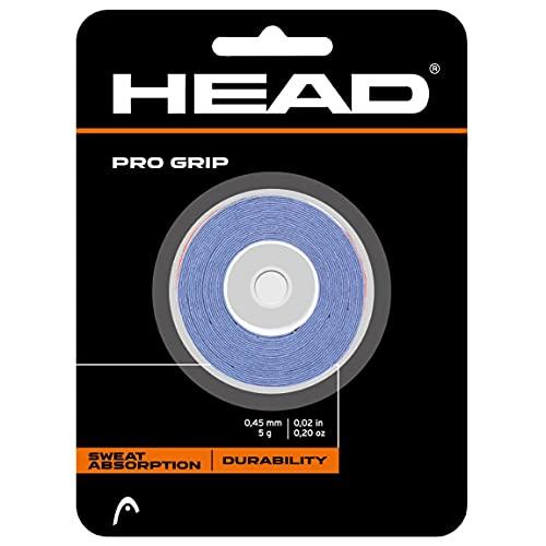 Head Pro Dz 285702-11-US - Overgrip con 3 correas de fijación, azul, talla unica