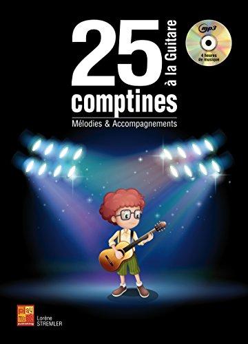 25 comptines à la guitare (1 Livre + 1 CD)