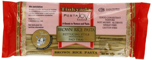 Tinkyada Brown Rice Fettucini Gluten Free 14Ounce Pack of 6