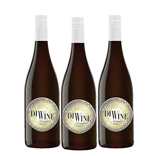 Diwine Eleven Semi Dulce Vino Espumoso Caja WEB de 3 Botellas 75 cl