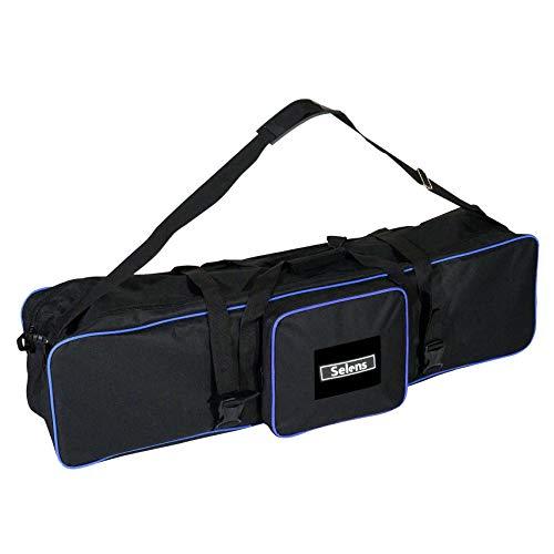 Selens 105x25x28cm Bolsa de Transporte Estuche Carrying Case Bag para Light Stand Soporte de Luz Softbox Aparatos de Iluminación Lighting Set Fotografía Estudio Fotográfico