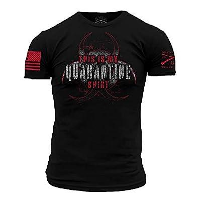Grunt Style This is My Quarantine Shirt - X-Large Black