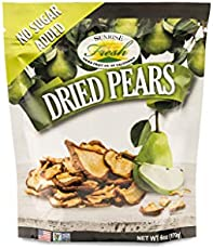 Dried California Pears, No added sugar, Sunrise Fresh Dried Fruit Co.