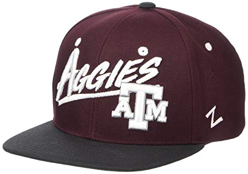 NCAA Texas A&M Aggies Boys Yonkers Snapback Hat, Primary Team Colors, Youth Adjustable
