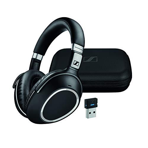 'SENNHEISER MB 660UC MS binaural Haarband Schwarz, Silber Kopfhörer–Kopfhörer (kabelgebunden/kabellos, Bluetooth + 3,5mm (1/8) + USB, Callcenter/Büro, ohraufliegend, geschlossen, 15–23.000Hz)