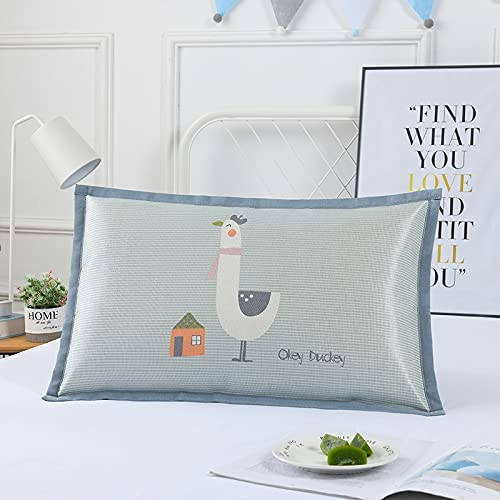 Summer A surprise price Limited price sale is realized Children's ice Silk Pillowcase Cartoon Student Set Pillow