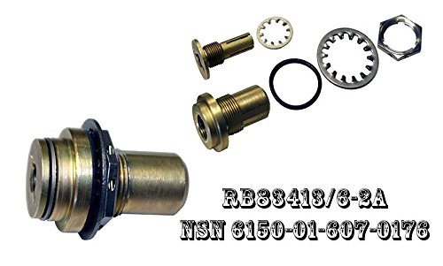 R&B Electronics, Inc. -CONNECTORS and Assemblies, Electrical, Aircraft GROUNDING: RECEPTACLES, Two Piece, with Inserts and HOUSINGS RB83413/6-2A NSN 6150-01-607-0176 NSN 6150016070176