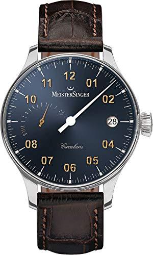 MeisterSinger CIRCULARIS POWER RESERVE CCP317G Elegante orologio da uomo Design senza tempo