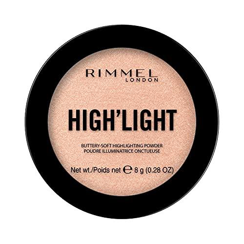 Rimmel London High'light, Iluminador, Tono 2 Candlelit - 8 g