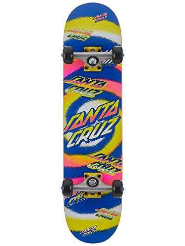 Santa Cruz Kinderskateboard Komplettboard Hypno Dot 7.25' (Yellow Purple)