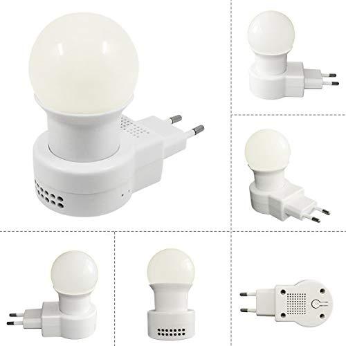 ildetective Telecamera Spia Nascosta IP p2p Lampada microcamera WiFi microcamera Trasmissione Video