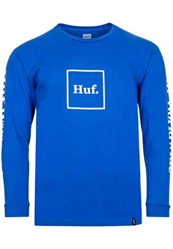 HUF Domestic Longsleeve - Nebulas Blue - M