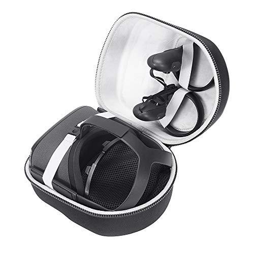 Eyglo Tragetasche für Oculus Quest 2/Oculus Quest All-in-One VR-Gaming-Headset, Reisetasche, Schutzhülle mit hoher Kapazität, Abdeckung für Gaming-Touch-Controller, Ladekabel & Adapter B2
