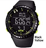 WMWMY Digital Watch Men's Sports Watch 50M Piscine Étanche Outdoor Alpinisme Watch, 4
