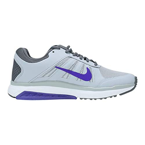 Nike Women's Dart 12 MSL Running Shoes Wolf Grey/Purple/Dark Grey 6