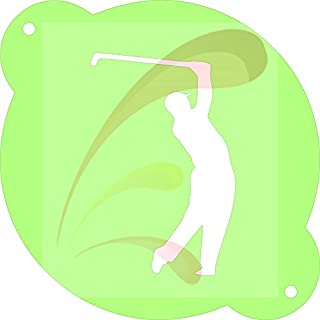 Golf Teeing, sports, PGA, Cookie stencil, Cake Stencil, Coffee Stencil, Candy Stencil, Cupcake stencil for Royal Icing, powders, sugars, edible glitters and Airbrushing