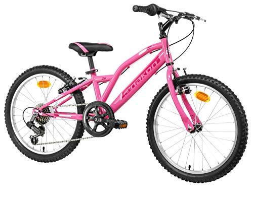 Anakon Hawk Six Bicicleta de montaña, niña, Rosa, 6-9 años