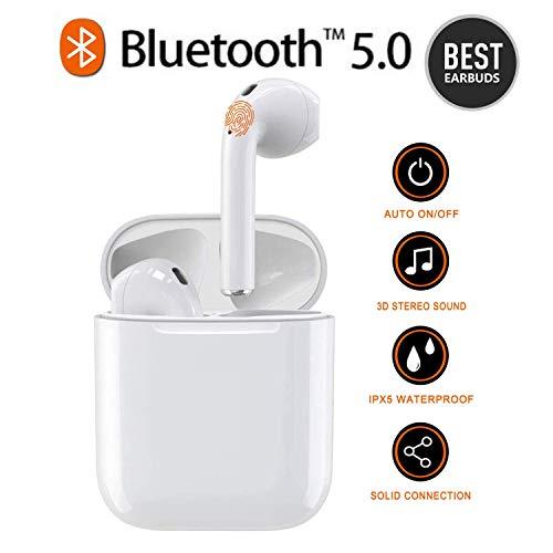 Preisvergleich Produktbild SZBH Bluetooth-Headset,  In-Ear-Kopfhörer,  Kopfhörer mit Geräuschunterdrückung,  Tragbare Sport-Bluetooth-Radio-Kopfhörer für Apple Airpods Android / iPhone / Samsung / AirPods Pro