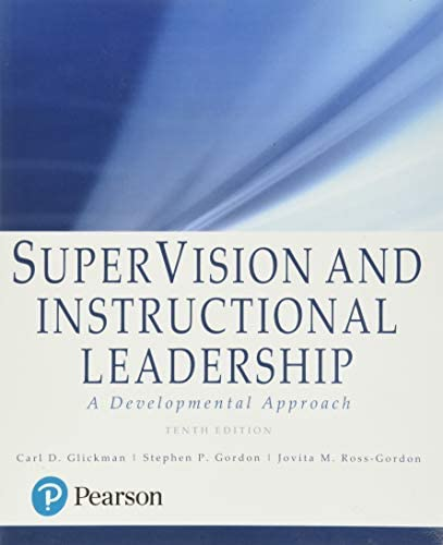 SuperVision and Instructional Leadership A Developmental Approach product image