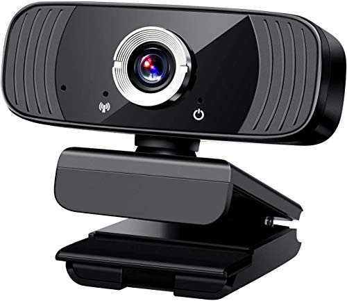 Aode 1080P Full HD Webcam for PC USB Web Camera for PC Desktop with Microphone Live Streaming Video Camera Clip On Web Cams Web Camera for PC/Laptop/Mac/Desktop/Macbook/Tablet for Windows 7/8/10