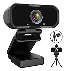 Webcam 1080p Hd Computer Camera - Microphone Laptop Usb Pc Webcam, Hd Full Gaming Computer Camera, Recording Pro Video Web Camera for Calling, Conferencing, 110-Degree Live Streaming Widescreen Webcam 【110 Degree Wide Angle Webcam with Microphone 】: ...