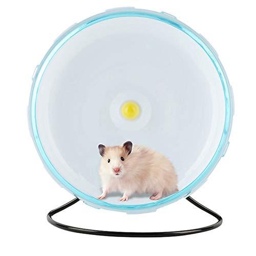 Felenny Hamsterlaufrad Haustier Übung Silent Running Spinner Rad für Haustier Ratte Gerbils Mäuse Chinchilla Guinea Pig Eichhörnchen und andere Kleintiere