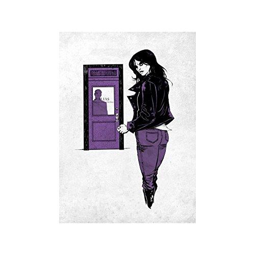 Marvel's Defenders Metal Poster Jessica Jones 32 x 45 cm Posters...