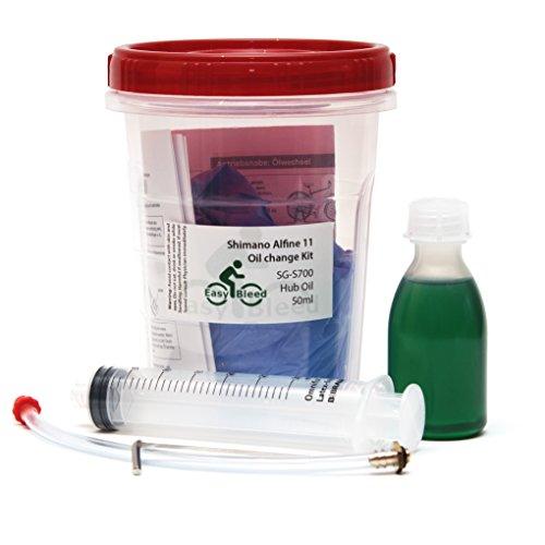 Easybleed Ölpflege-Set für Shimano Alfine 11 Antriebsnaben mit 50ml SG-S700 Spezialöl