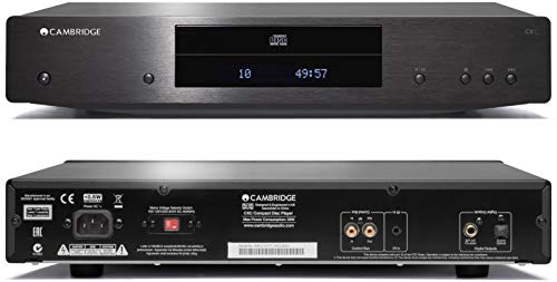 Cambridge Audio CXC CD Transport Player for Home, No Radio (Black)