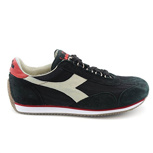 Diadora Sneakers Uomo 0001140 Black-True Red-Whisper White Black-True Red-Whisper White 46