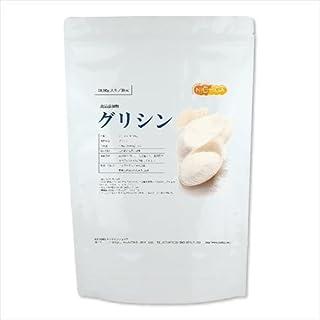 グリシン 1kg [01]食品添加物規格 国内製造品 【付属スプーン】 NICHIGA(ニチガ)