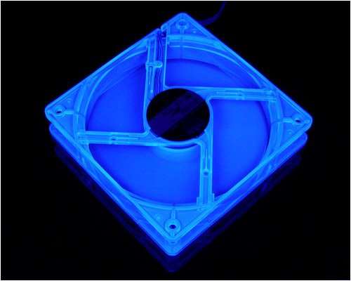 Cooler Master UV Silent Fan 120 x120 mm (SUF-S12) - Ventilador de PC (22 dB, 120 g, 120 x 120 x 25 mm, 0.60 W±10%, 42.73 CFM)