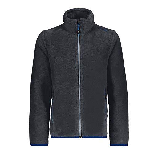 CMP Jungen Fleecejacke Boy Jacket 38P1414 Antracite 164