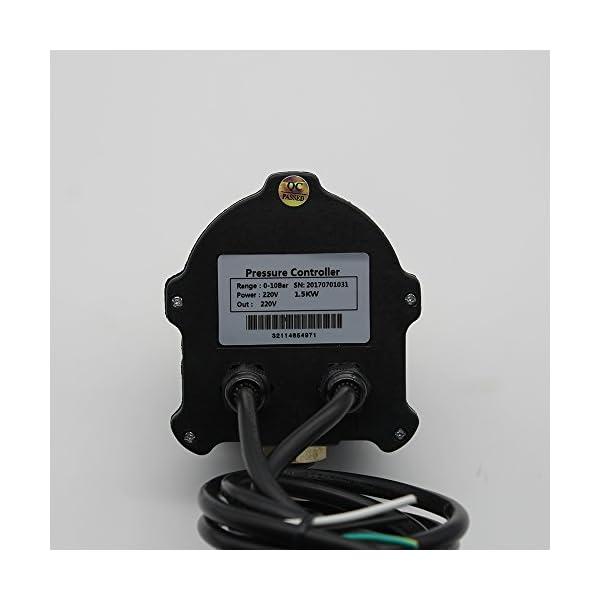 220V Presión Controlador automatico para bomba domestica – Presscontrol Pressdrive electric digital – macho