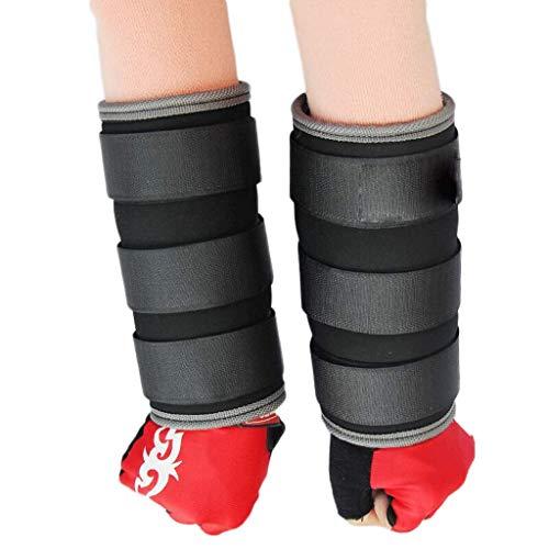 XBSLJ Lastres de Tobillos Tobillo Ajustable Muñequera Brazo Pesos para piernas Pesos Ajustables Correa Ajustable para Mujeres Hombres Niños