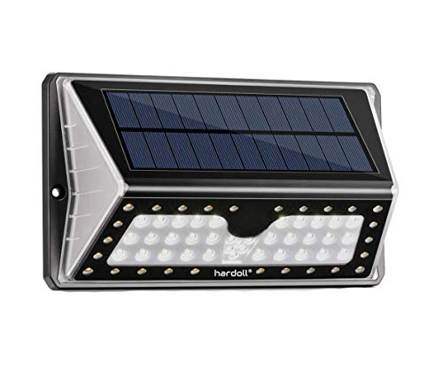 Hardoll Solar Lights for Garden 62 LED Outdoor Motion Sensor Lamp for Home Waterproof with Cool &...